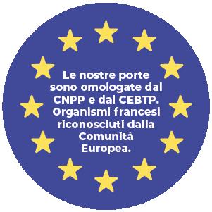 Porte omologate CNPP e CEBPT, Organismi francesi riconosciuti dalla CE -